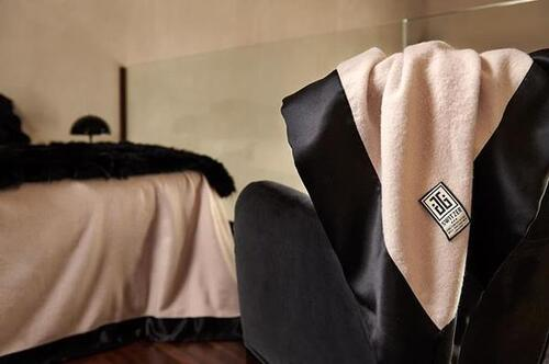 Behold Beauty in a Black. Now Voyager Luxury Throw Blanket