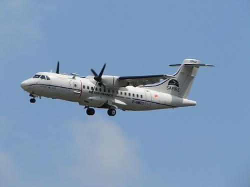 ATR 42 Safire Avion Météo.