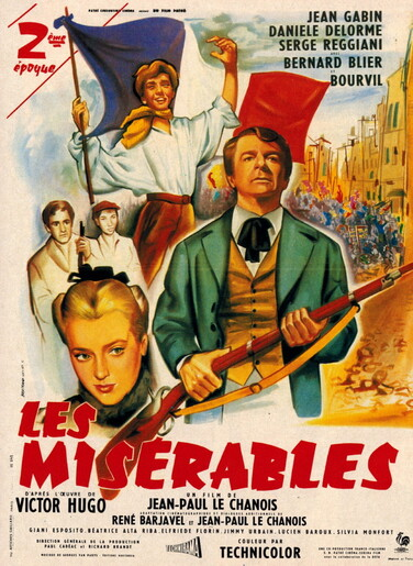 LES MISERABLES - BOX OFFICE BOURVIL 1958