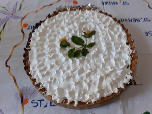 Quelle belle et bonne tarte aux citrons