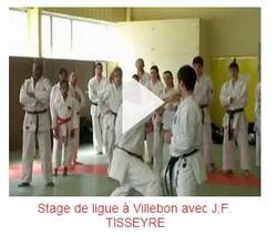 Stage de ligue avec Jean-François Tisseyre, 7e DAN