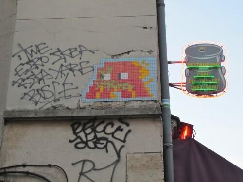 Invader Montmartre