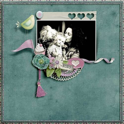 Flying Kisses by dentelle scrap