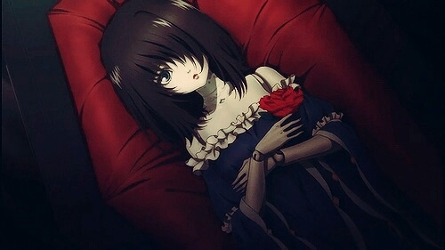 Image de anime, another, and doll
