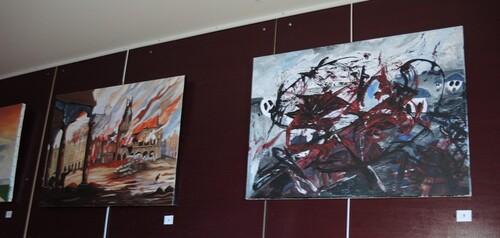 Des Armes et des Arts à Liévin- Vernissage