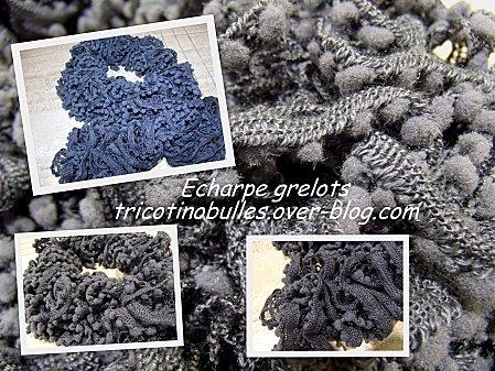 Echarpe grelots