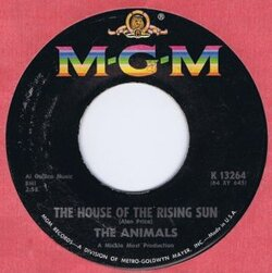 Animals : House Of The Rising Sun (1964)