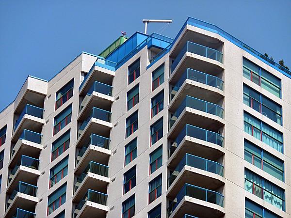 Toronto gratte ciel balcons
