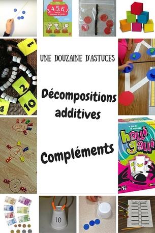astuces pour travailler décomposition additive ou compléments à 10