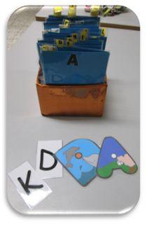 Mes lettres pour les jeux d'écriture et d'orthographe