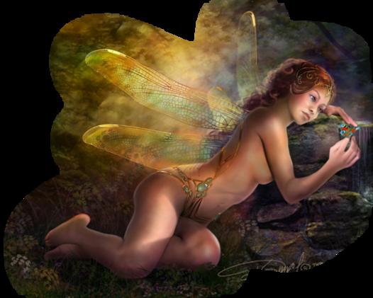 Femmes Fantaisie et Animaux