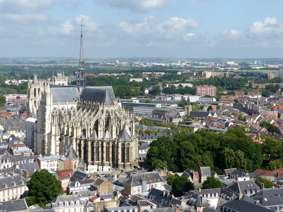 Du haut de la Tour Perret - Cathédrale