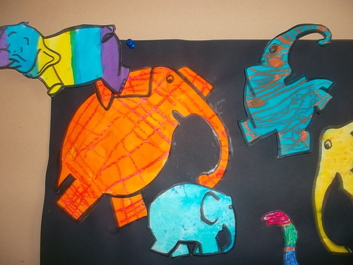 Le carnaval des éléphants