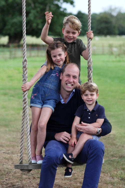 William et ses enfants