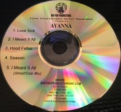AYANNA - AYANNA (EP PROMO 200x)