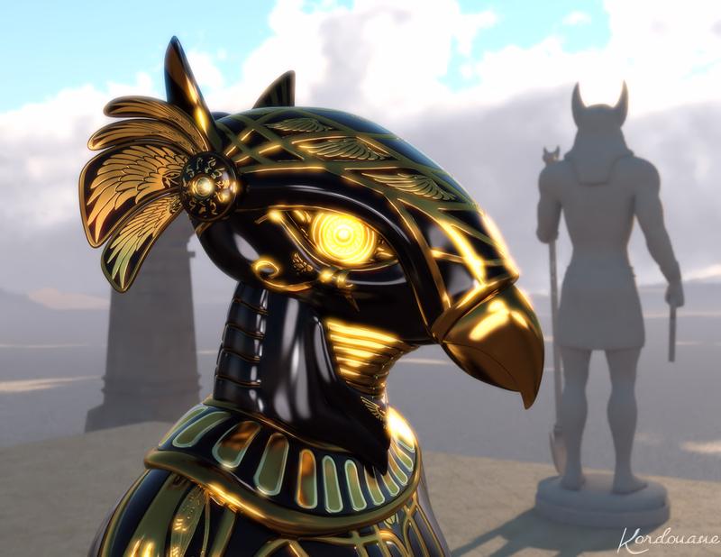 Fond d'écran : Le masque d'Horus
