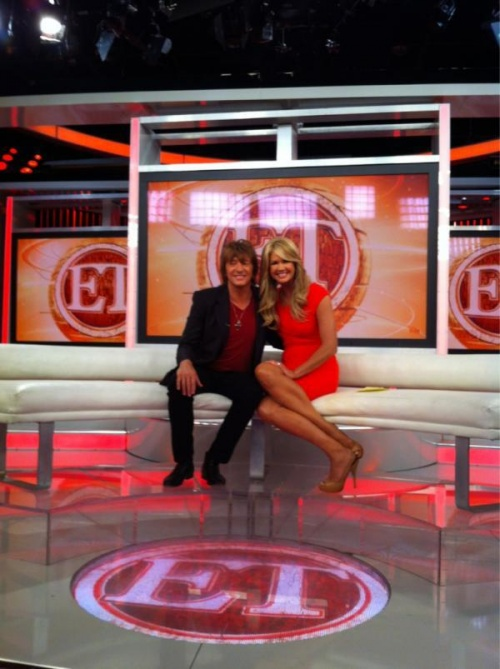 "Richie dans l'emission  ""Entertainment Tonight"""