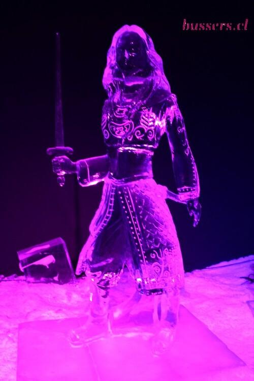 personnage de disney en glace à liège 2018