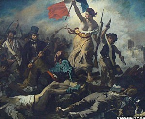 liberte guidant peuple delacroix 1830 paris