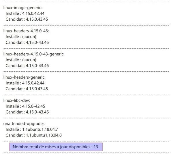 Script de mise à jour d'Ubuntu