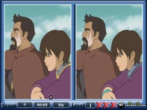 Tales from Earthsea - Spot the difference