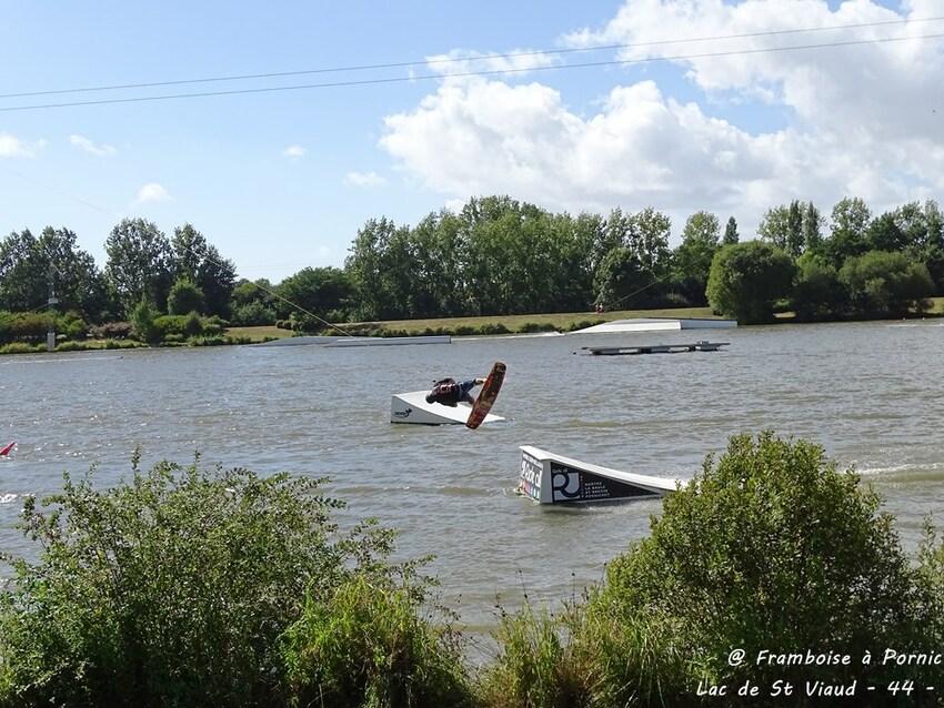 Saint Viaud son lac et son téléski - 2016