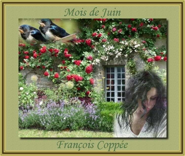 """"""" Mois de Juin """" poème de François Coppée"""