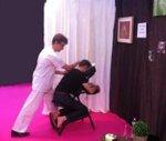 massage assis dans les entreprises