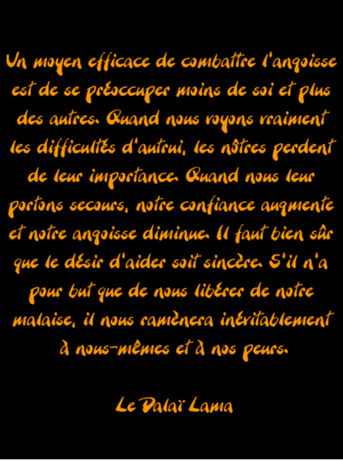 CITATION DU DAILA LAMA