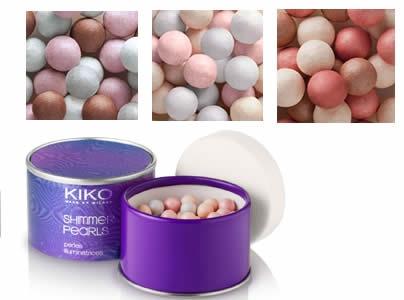 Les météorites de Guerlain VS Les shimmer pearls Kiko