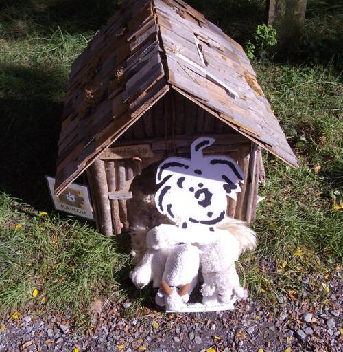"""""""Kaïkou, chien de berger"""" aux Remp'ARTS bayonnais"""