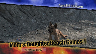 Candid-HD - Mom & Daughter Beach Games 1.