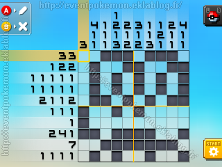 Pokemon picross mural 2 mural mode of m02 from top 8 for Pokemon picross mural 2