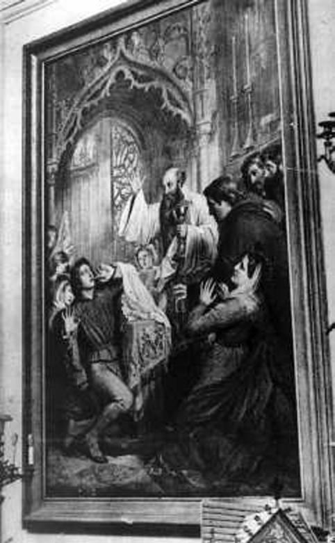 Miracle Eucharistique Belgique Middelburg-Louvain 1374