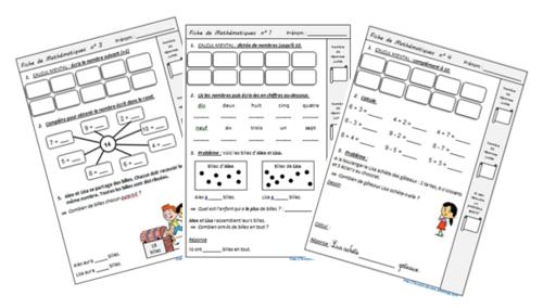 Exercices quotidiens en complément de Cap Maths CE1