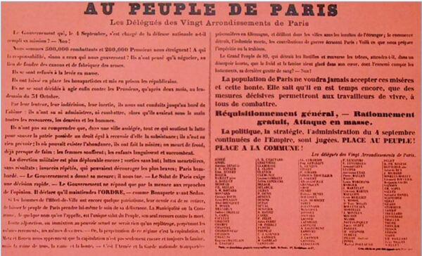 Gustave Tridon, les châtillonnais et la Commune de Paris