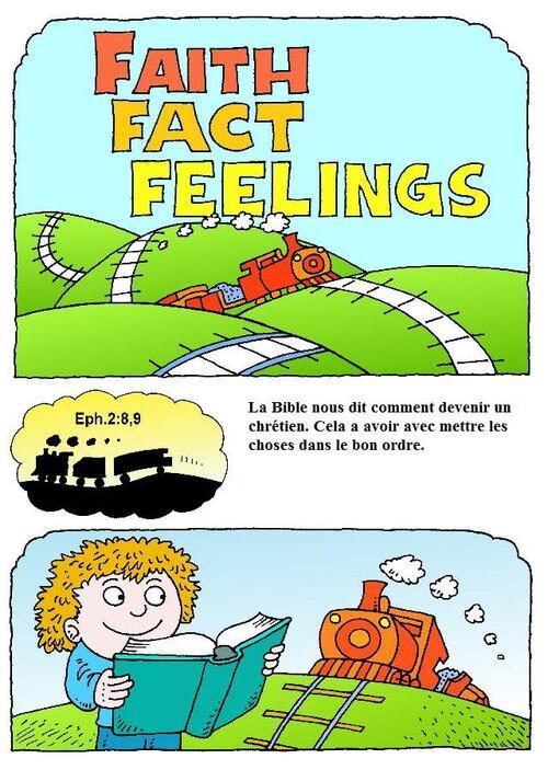 Faits, foi, sentiments