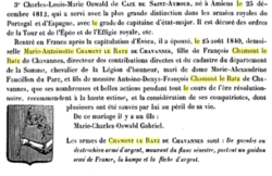 Corbie- De Caix de Saint-Aymour