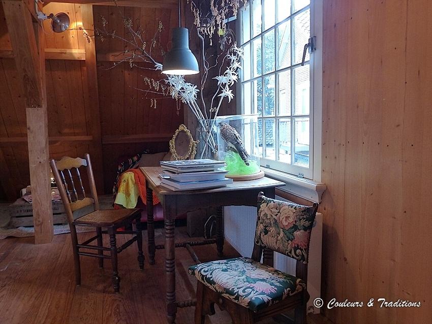Un intérieur de maison