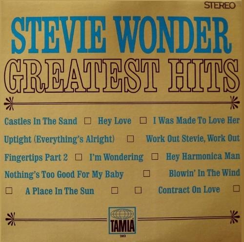 "Stevie Wonder : Album "" Greatest Hits "" Tamla Records TS 282 [ US ]"