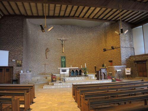 Courrières- Son église
