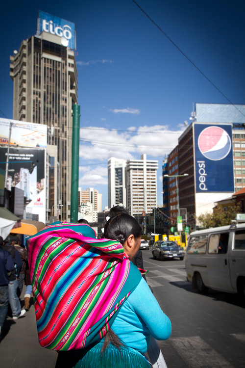 La Paz: les travailleurs