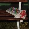 gros plan sur la boîte de chocolats