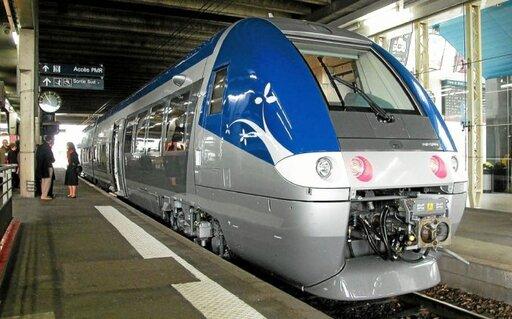 Dans un premier temps, Railcoop compte s'orienter vers la location de trains. Ceux-ci pourraient bientôt être visibles en gare de Rennes (photo d'illustration).
