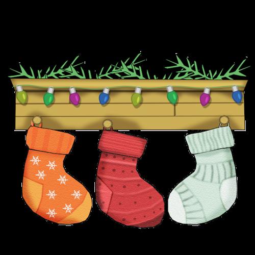 Chaussettes de Noël Série 1
