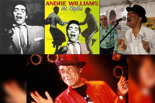 RIP Andre Williams Mr. RHYTHM - 17 Mars 2019