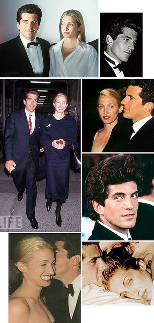 john f. kennedy jr. & carolyn bessette: