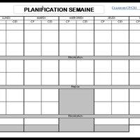 Outils Pour La Classe Semaine à 4 5 Jours Agenda Cahier