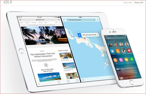 iOS 9 coming on September the 16th