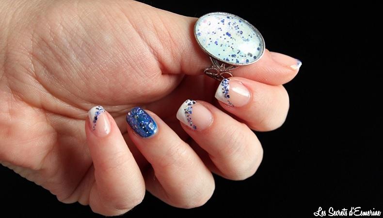 Nail Art : Un feu d'artifice sur les ongles & une Bague qui donne du baume au coeur...